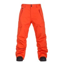 HORSEFEATHERS BARS SNOW PANTS RED ORANGE