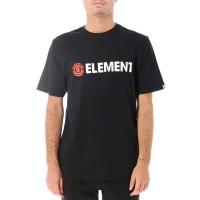 ELEMENT BLAZIN FW19 TEE FLINT BLACK