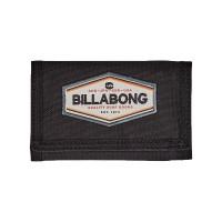 BILLABONG WALLED TRI FOLD WALLET BLACK
