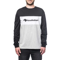 HORSEFEATHERS KENDALL L/S T-SHIRT ASH