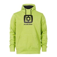 HORSEFEATHERS BARRY PREMIUM HOODIE HEATHER LIME
