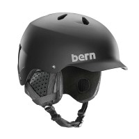 BERN WATTS EPS MIPS HELMET MATTE BLACK/BLACK LINER