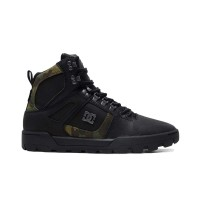 DC PURE HIGH-TOP WINTER BOOTS BLACK/CAMO