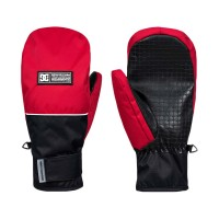 DC FRANCHISE SNOW MITTENS RACING RED
