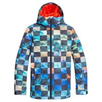 QUIKSILVER MISSION PRINTED SNOW JK KID POINCIANA ONGRID