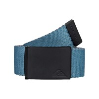 QUIKSILVER THE JAM 5 REVERSIBLE WEBBING BELT MOONLIT OCEAN
