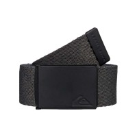 QUIKSILVER THE JAM 5 REVERSIBLE WEBBING BELT RAVEN HEATHER