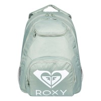 ROXY SHADOW SWELL SOLID LOGO BACKPACK LILY PAD