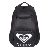 ROXY SHADOW SWELL SOLID LOGO BACKPACK ANTHRACITE