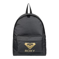 ROXY SUGAR BABY SOLID LOGO BACKPACK ANTHRACITE
