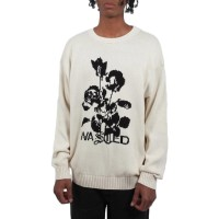 WASTED PARIS UNLOVEABLE SWEATER IVORY